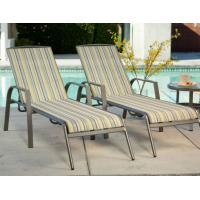 Pool Chaise Lounge Cushions: Poolside Sling Chaise Lounge Set Aluminum Patio Furniture
