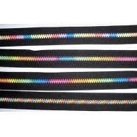 Buy cheap Rainbow Paint color teeth open-end zipper metal r Attractive special 7# product