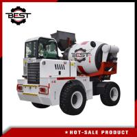 Buy cheap Durable 2.5m3 Mobile Concrete Mixer Truck With Hydraulic Electronic Balance product