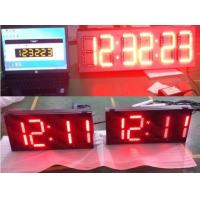 Top quality led clock and temp display