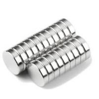 China N42 D8x3mm Disc magnet  Zinc Plating Professional Customized Neodymium Magnet on sale