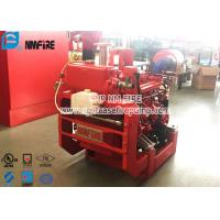 38KW UL Diesel Driven Fire Water Pumps / Fire Engine Water Pump With High Speed