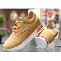 Buy cheap Cow Suede Leather Upper Casual Sport Shoes , Platform Heel Girls Casual Shoes product