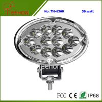 Buy cheap 36W Oval Shape LED Working Lamp for SUV and MPV product