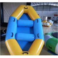 Buy cheap SGS Approval Customized PVC Inflatable Boat For Two Men / Three Man / Four Men product