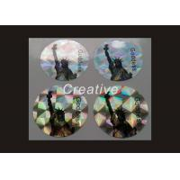 Buy cheap Dot Matrix 3D Hologram Sticker , Security Holographic Security Labels product