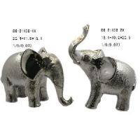 Buy cheap Ceramic Electroplated Elephant Figurine (D6-21136) product