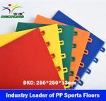 Buy cheap Indoor Futsal Court Sport Floor,Modular PP Sports floor,Interlock Sport Tiles product