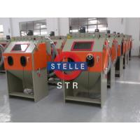 Buy cheap Box Sand Blast Cabinet / Dustless Abrasive Blast Cabinet Burrs Residue Removing product