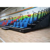 Anti Slip Portable Tiered Seating / Sturdy Stadium Seats With Portable Access Stairs