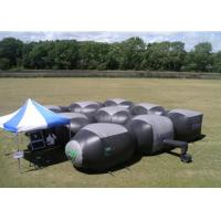 Buy cheap PVC Material Mobile Laser Tag Inflatable Laser Maze For  Indoor Or Outdoor product