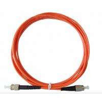 China High Stability Fiber Optic Patch Cord FC-ST , Multimode , Simplex on sale
