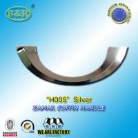 Buy cheap Ref No H005 Metal Coffin Handles , Italy design coffin fittings Half moon from Wholesalers