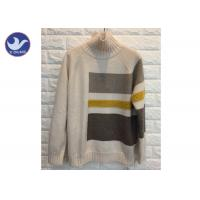 Buy cheap High Neck Fashion Pattern Womens Knit Pullover Sweater Thick Winter Jumper product