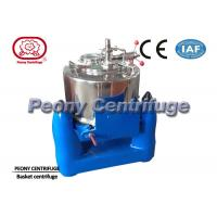 Buy cheap Manual Top Discharge Solid Bowl Basket Centrifuge for Algae Concentration from Wholesalers