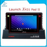 Buy cheap Launch X431 PAD II WiFi Auto Code Reader Update Free Online Launch X-431 Pad 2 Universal Diagnostic Scanner product
