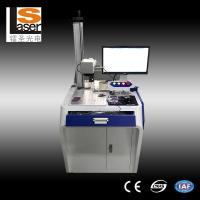 Buy cheap High Efficient Fiber Laser Marking Machines For Metals Plastic Rubber Wood product