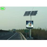 Buy cheap Energy saving Solar Panel  P10 Outdoor Advertising Led Display Screens product