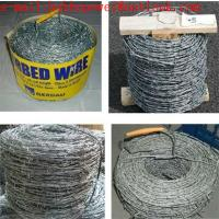 Buy cheap Twisted Fence Wire, Barbed Tape, Barbed Wire Fence /Hot Dipped Galvanized(250g/m2 zinc) Barbed Wire Mesh Fencing product