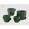 Buy cheap Green Color Cactus Flower Pots Homewares Decorative Items Succulents Plant Pots from wholesalers