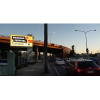 Buy cheap Australia Outdoor Advertising Display Super Slim Easy Maintenance with High Brightness product