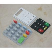 Buy cheap Durable Silicone Rubber Mobile Phone Keypad , Single Membrane Switch Keypad product