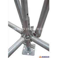 China Galvanized Ringlock Scaffolding System , Pin Lock Scaffold Dia 48.3 X 3mm on sale