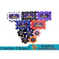 Buy cheap Aluminum Dedicated Casino Poker Chip Set With UV Anti - Release Function product