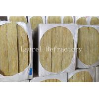 Buy cheap Rockwool Mattress Refractory Rockwool Sound Insulation with Wire Mesh 20 MM Thick product