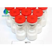 China MT1 Tanning Injections Peptides Melanotan - 1 White Powder 10mg/vial with Good Effect on sale