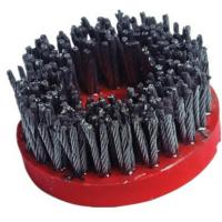 Buy cheap High Speed Diamond Abrasive Brush Plastic Backed Excellent Polishing Performance product