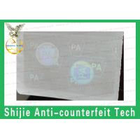 Buy cheap Good price rounded rectangles PA without UV hologram overlay for ID cards best quality product