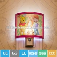 Buy cheap China supplier, night light manufacturing,high quality Different pattern photo frame night light, photo sensor small night light product