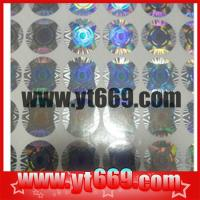 Buy cheap Holographic Hologram Label/ Sticker product