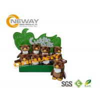 Retail Paper Cardboard Display Stands With 157 Gsm Art Paper
