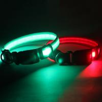 Buy cheap New products 2016 innovative product customized led dog collar and leash EIectronic pets product