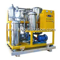 Buy cheap Vacuum Hydraulic Oil Dehydration Degassing Purifier, Hydraulic Oil Flushing System, recycling, polishing hydraulic pipe product
