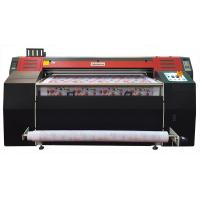 Buy cheap 1.8M Epson DX5 Head Sublimation Printing Machine For Fabric / Textile Printing product