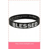 Buy cheap wholesale OEM design silicone wristband product