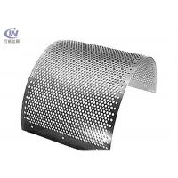 Buy cheap Stainless Steel Round Hole Sieves Perforated Metal Sheet Wire Mesh Punching Plate product