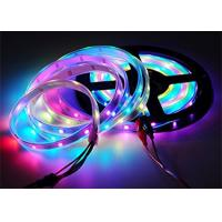 Buy cheap 5m Cuttable LED Strips Magic Color 16.4ft 150 WS2812B White FPCB Non Waterproof product