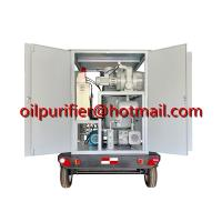 Quality Mobile transformer oil filtration plant, weather-proof transformer oil for sale