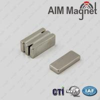 Buy cheap Super Strong Block Neodymium Magnet n52 with holes from wholesalers