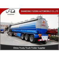 Buy cheap Crude Oil Tank Semi Trailer Fuel / petroleum 50000 liters Steel Petro Tanker Semi Trailer product