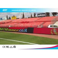 Buy cheap High Resolution Sports Advertising Stadium Perimeter Led Screen Display product