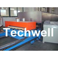 China Caterpillar Type PU Sandwich Panel Making Machine For Sandwich Panels With Various Thickness on sale