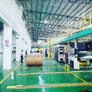 Full Automatic Carton Plant Design Solution Corrugation & Finishing & Logistics