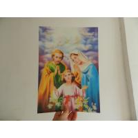 Buy cheap PET 0.45MM 75lpi  3D animal Lenticular Printing photo with strong 3d  depth effect printed by UV offset printer product