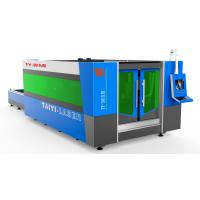 Buy cheap Fiber Laser Industrial Cutting Machine With Cutting Thickness upto 10mm SS product