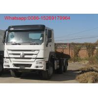 Buy cheap SINOTRUK HOWO ZZ4257S3241W 6x4 10 tyres Left hand drive 371hp tractor truck product